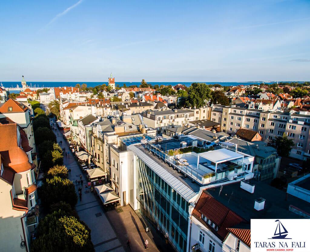 Sliding Box dakterras Sopot Poland
