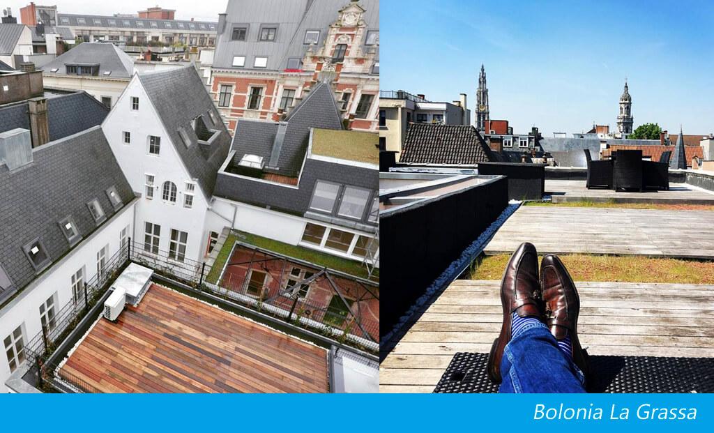Luxe dakterras met Skydoor elektrisch dakluik Antwerpen