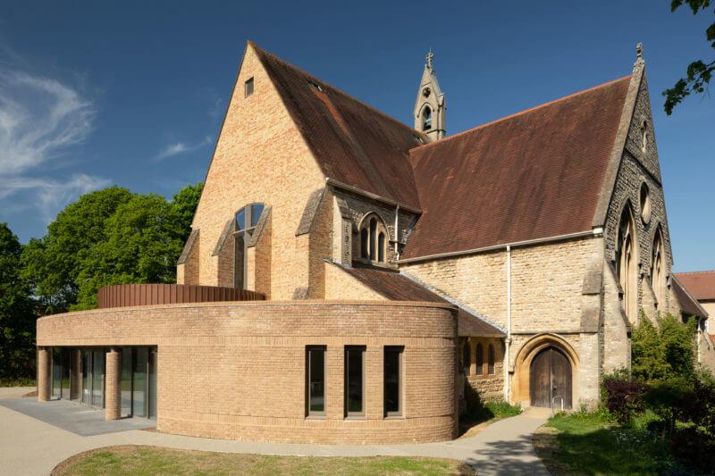 Uitbouw kerk Oxford