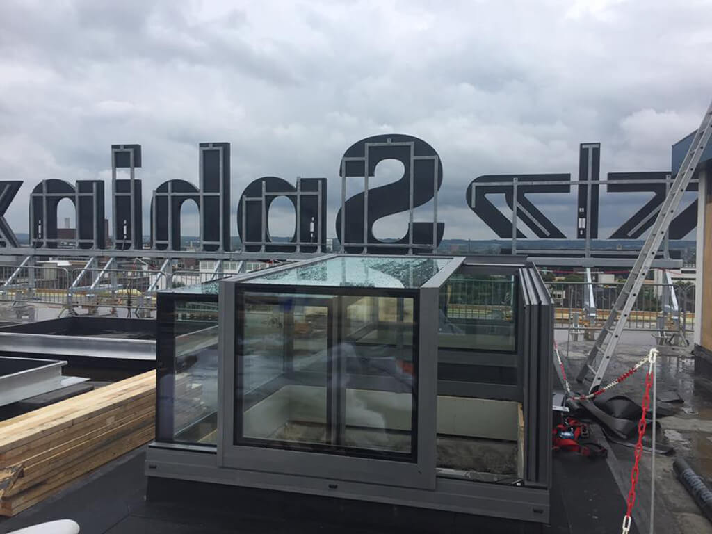 Freestanding Box dakterras Maastricht