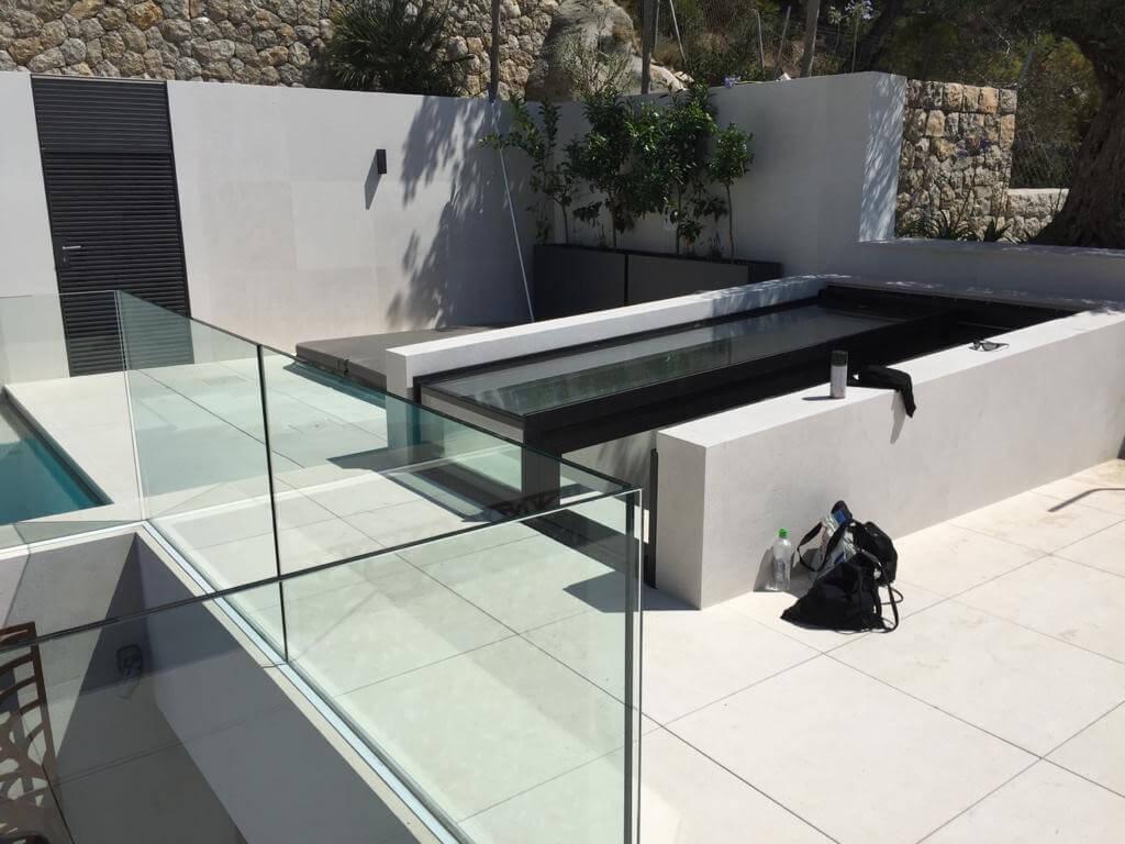 Box in Mallorca als toegang tot luxe dakterras