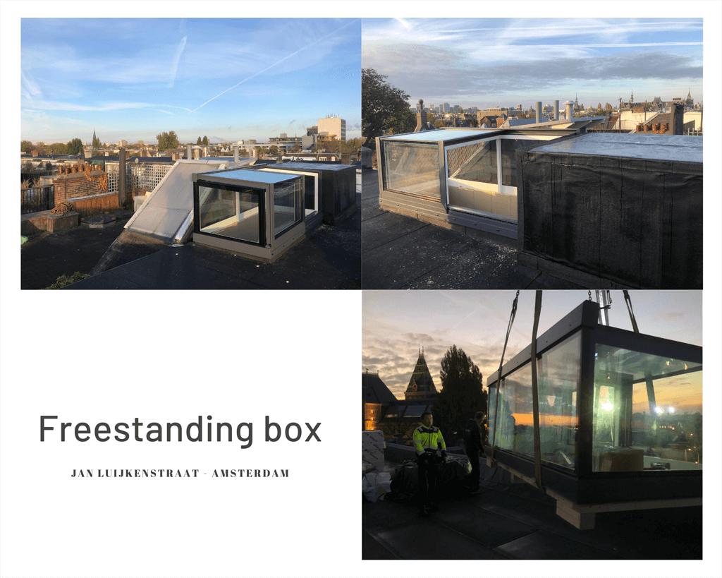 Freestanding Box Hartje Amsterdam