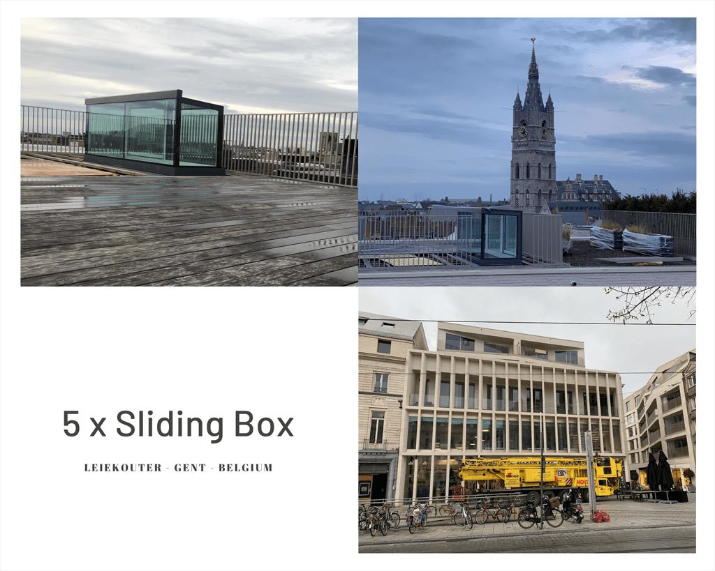 Freestanding Box Leiekouter Gent