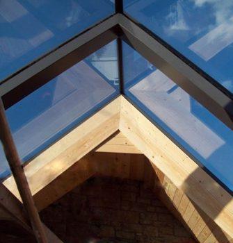 Ridgeglaze zadeldak - Glazing Vision Europe - Zadeldak