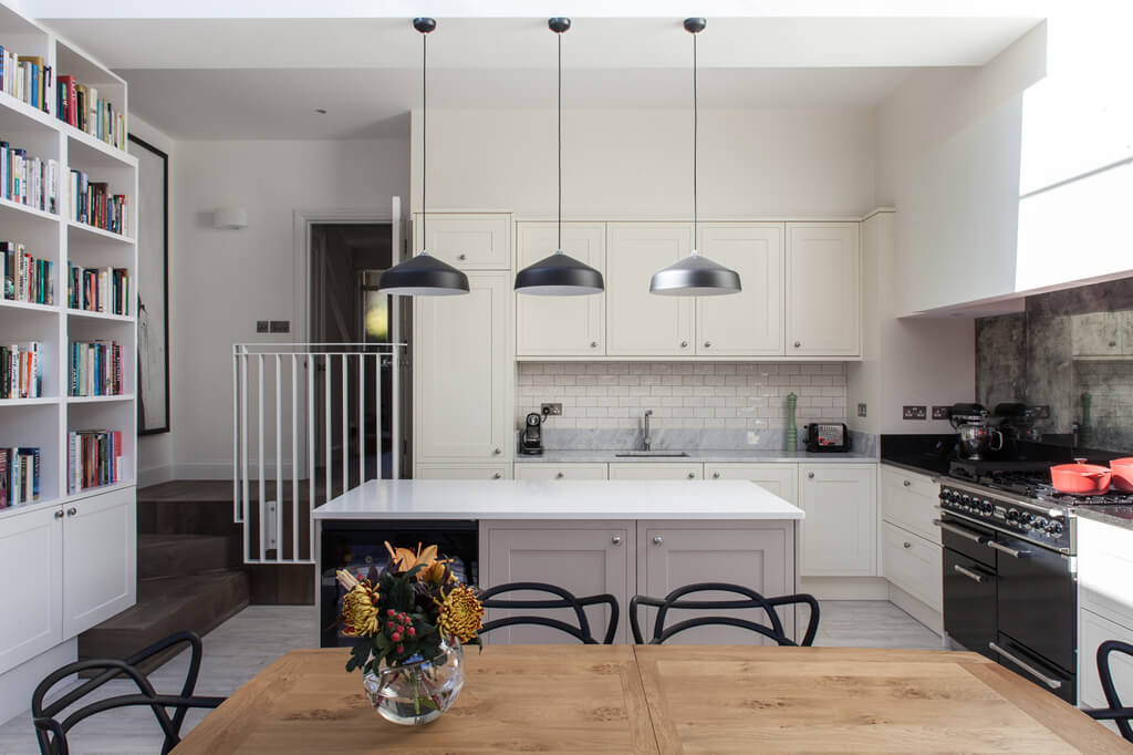 Daklicht Lichtstraat daglicht in keukenuitbouw