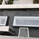 Fixed Flushglaze dakraam buitenaanzicht