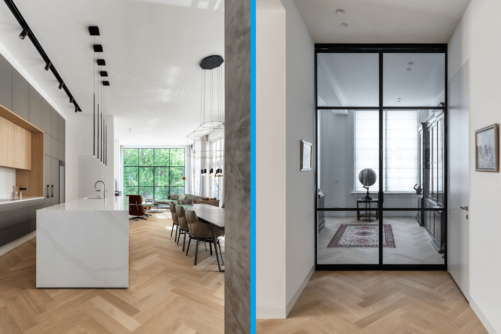 Architecten brengen daglicht in huis